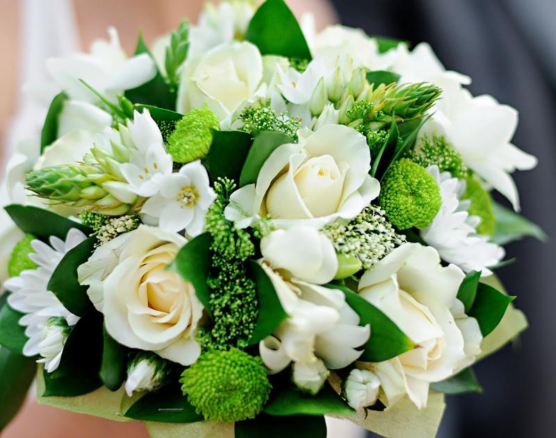 Красивый букет цветов фото
